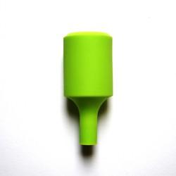Silikon Lampenfassung (Grün)