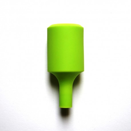 Silikon Lampenfassung(Grün)