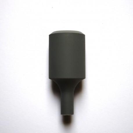 Silikon Lampenfassung (black)
