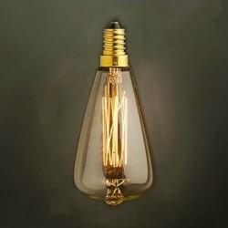 Design Vintage Glühbirne VL10 (Gerader Glühfaden)