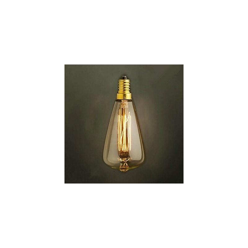 Design Vintage Glühbirne, Vintage Stoffe Kabel oder Vintagelights