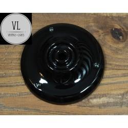 Porzellan Baldachin in Schwarz