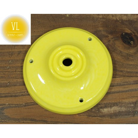 Porzellan Baldachin in Gelb