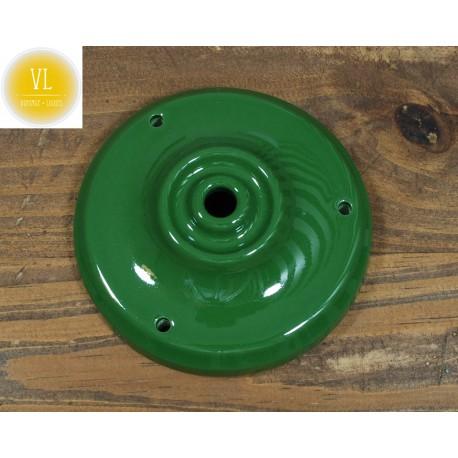 Porzellan Baldachin in Grün