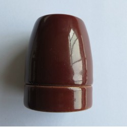 Design Porzellan Lampenfassung (Braun)