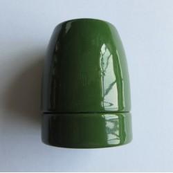 Design Porzellan Lampenfassung (Dunkel Grün)
