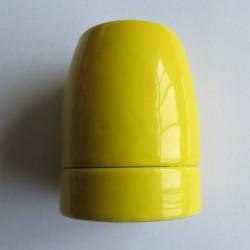 Design Porzellan Lampenfassung (Gelb)