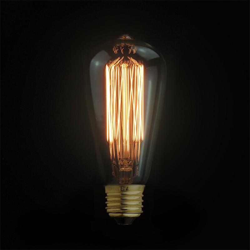 Vintage Stoffe Kabel, Design Vintage Glühbirne,oder Vintagelights
