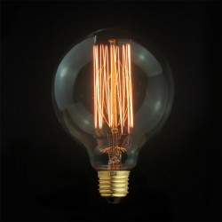 Design Vintage Glühbirne VL2 (Gerader Glühfaden)
