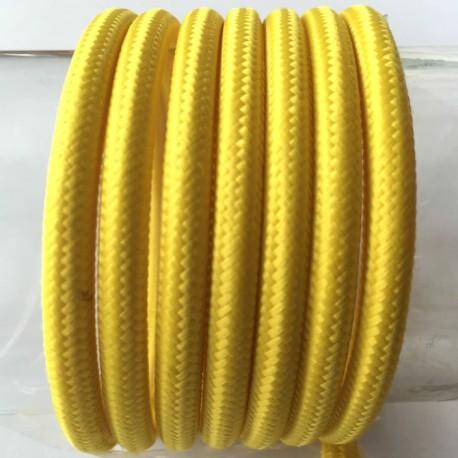Textilkabel einfach( gelb)