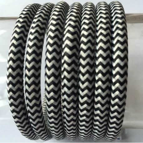 Textilkabel einfach (zig zag)