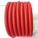 Vintage TextilStromKabel einfach (rot)