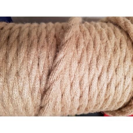 Vintage TextilStromKabel Leinen Verseilt