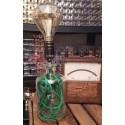 Upcycling Flaschen Lampe Grass Grün