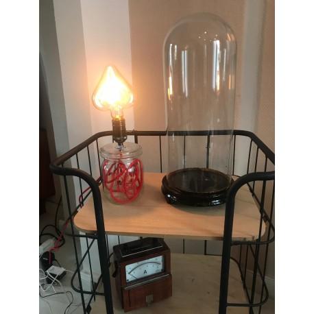 Einmach Glas Lampe (Weck, Ruhrglas u.Ä)