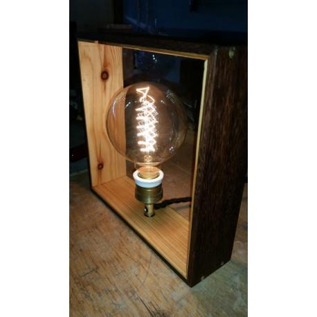 Pflaumen Holz Rahmen Lampen
