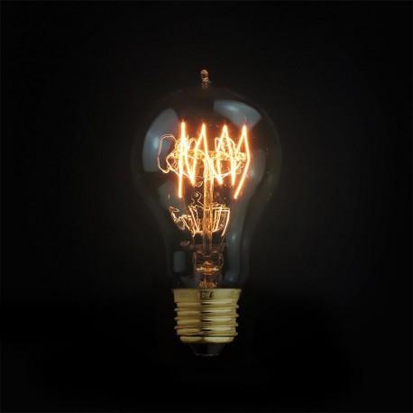 Design Vintage Glühbirne VL14 (Runder Glühfaden)